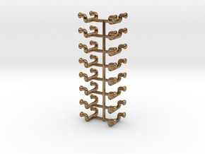 1/48 DKM UBoot Ladders Set x16 in Natural Brass