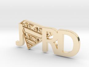 JORD Pendant in 14K Gold