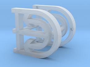 logo-Damen-1:20 in Smooth Fine Detail Plastic