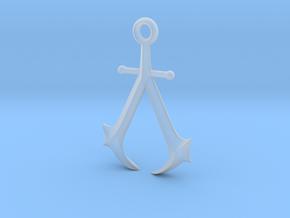 New England Assassin's Emblem in Smoothest Fine Detail Plastic