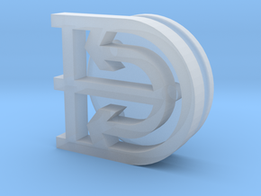 logo-Damen-NH1816-1:20 in Smooth Fine Detail Plastic