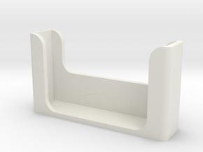 LED_remote_holder in White Natural Versatile Plastic