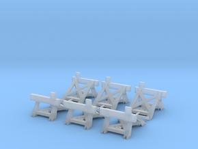 Prellbock/Puffer Fleischmann Profigleis (6x, H0) in Smooth Fine Detail Plastic