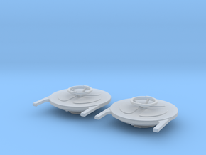 2x1 INCH SCUTTLES in Smooth Fine Detail Plastic