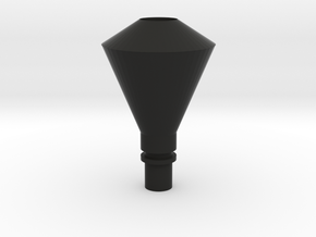 Diamond Stack 02 On30 in Black Premium Versatile Plastic
