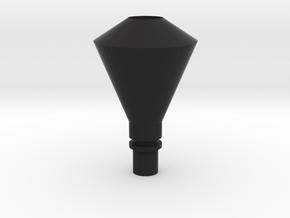 Diamond Stack 03 HO in Black Premium Versatile Plastic