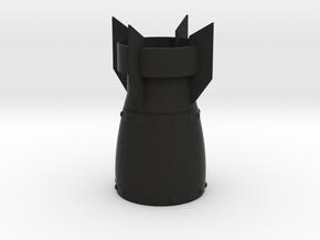 Bomb Lamp in Black Natural Versatile Plastic