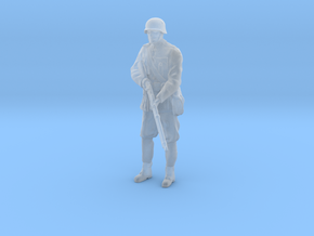 1/35th scale Hungarian soldier standing in Smooth Fine Detail Plastic
