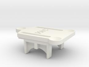 VRC Super Astute - A2 - Gear Box Base in White Natural Versatile Plastic