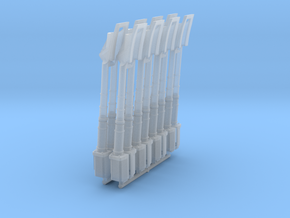 WINGY 1/48 NACELLE ARMS in Smooth Fine Detail Plastic