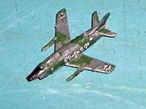 1/300 FIAT G91 R/3 in White Strong & Flexible