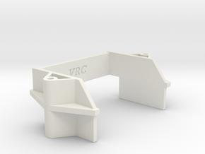 VRC Super Astute - G5 - Battery Holder (Rear) in White Natural Versatile Plastic