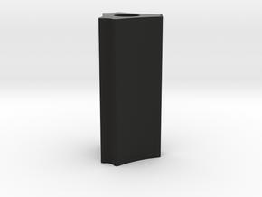 TriCurve Airsoft Barrel Tip (14mm Self-Cutting Thr in Black Premium Versatile Plastic