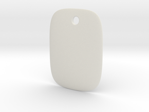 Tag Soft Shape Normal Size in White Strong & Flexible