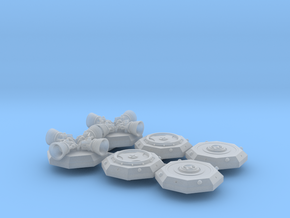 BYOS ADD ON DOCKING STABILIZERS in Smooth Fine Detail Plastic