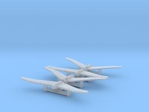 (1:700) (x4) Kayaba Ku-3  in Smoothest Fine Detail Plastic