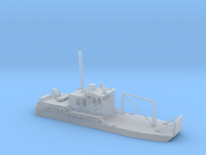 1/700 Scale USCGC Blackberry 65303 in Smooth Fine Detail Plastic