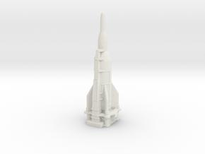 A-11 Rocket (Japan/Germany) in White Natural Versatile Plastic
