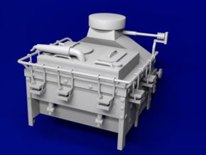1:78 HMS Victory Galley Stove *UPDATED* in Smoothest Fine Detail Plastic