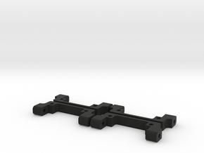 MS-01D IHB FULL SET (Independent Hinge Block) in Black Natural Versatile Plastic