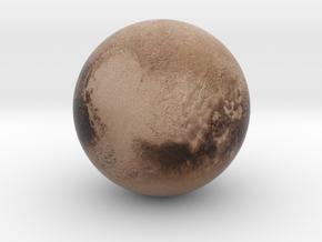 """Tiny Pluto (1"""") in Full Color Sandstone"""