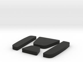 Indiglo - Inserts (GEN2) in Black Natural Versatile Plastic