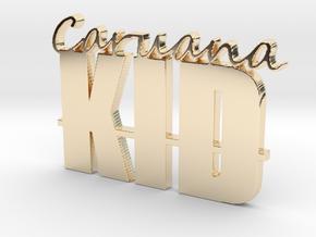 Caruana Kid Pendant in 14K Gold