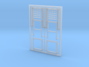 Klappnock 1:40 (2 Stück) in Smooth Fine Detail Plastic