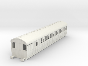 o-87-lner-quint-d80-brake-3rd-coach-5 in White Natural Versatile Plastic