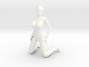 Printle V Femme 765 - 1/32 - wob in White Processed Versatile Plastic