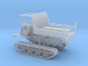 1/87th Morooka Type Tracked Carrier Vehicle in Smooth Fine Detail Plastic