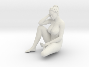 Printle N Femme 768 - 1/32 - wob in White Natural Versatile Plastic