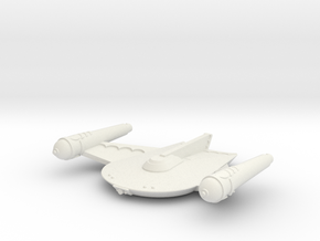 3125 Scale Romulan King Eagle Command Cruiser MGL in White Natural Versatile Plastic