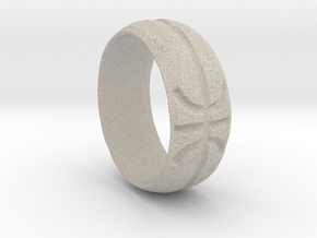 Basketball Ring in Natural Sandstone: Extra Small