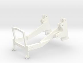 Fendt 500  Konsole in White Processed Versatile Plastic