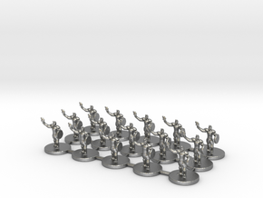 Game of Thrones Risk Pieces - Braavos in Raw Silver