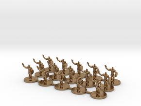 Game of Thrones Risk Pieces - Braavos in Natural Brass