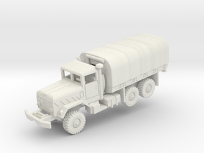 M923 5t with tarp in White Natural Versatile Plastic: 1:200