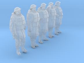 1/32 Royal Navy D-Coat+Lifevst Set203-1 in Smooth Fine Detail Plastic