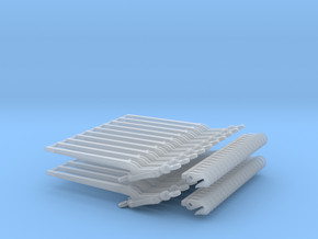 1/16 indirect load binders in Smooth Fine Detail Plastic