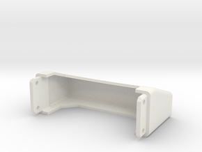 Tamiya Semi Truck Tapered Frame End - Type C in White Natural Versatile Plastic