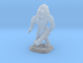 Xochatl Warrior-War Of The Ravaged Board Game Mini in Smooth Fine Detail Plastic: Small