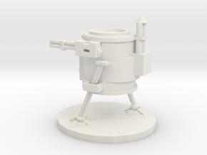 Junker Stomper 1  in White Natural Versatile Plastic
