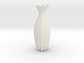Vase 12700 in White Natural Versatile Plastic