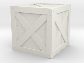 Basic Crate in White Strong & Flexible
