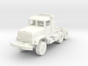 M931a2 Tractor in White Processed Versatile Plastic: 1:200