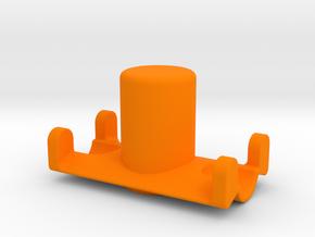 Safety Cap and Cradle Multi-Tool in Orange Processed Versatile Plastic