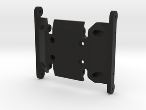 N2R High Clearance Skid for HPI Venture in Black Natural Versatile Plastic
