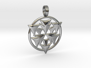 CRYSTAL HORIZONS in Fine Detail Polished Silver