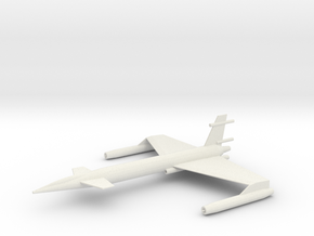 XAB-1 Scale 285:1 in White Natural Versatile Plastic